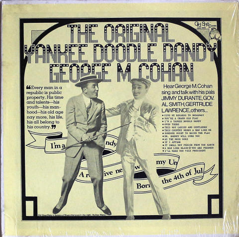 """George M. Cohen Vinyl 12"""""""
