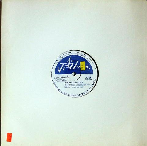 "The Stars Of Jazz: Volume Three Vinyl 12"""