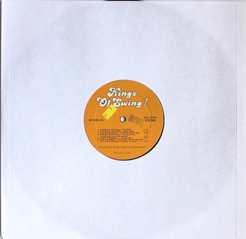 Kings Of Swing Vinyl 12""