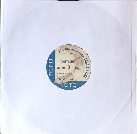 """John Patton Vinyl 12"""""""