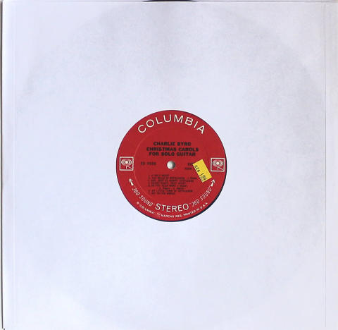 "Charles Byrd Vinyl 12"""