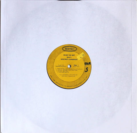 "Godfrey Cambridge Vinyl 12"""