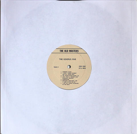 """The Goofus Five / Ted Wallace And His Orchestra Vinyl 12"""""""