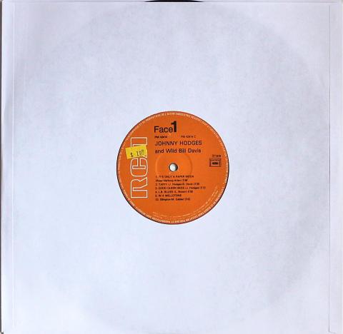 """Johnny Hodges / Wild Bill Davis Vinyl 12"""""""