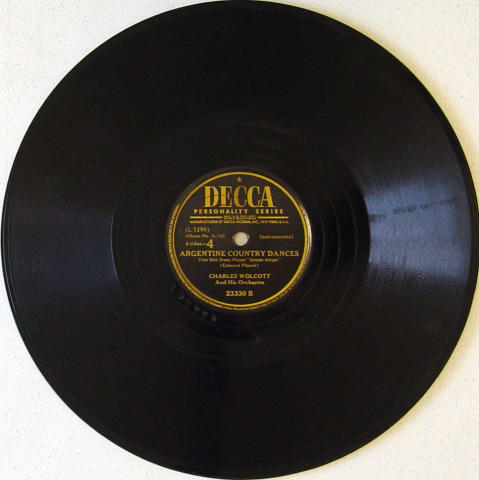 Charles Wolcott And His Orchestra 78