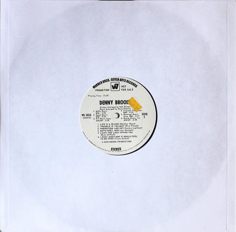 "Denny Brooks Vinyl 12"""