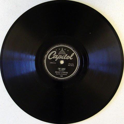 Benny Carter / Savannah Churchill 78