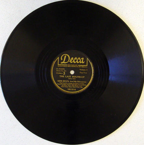 Gene Krupa & His Chicagoans 78