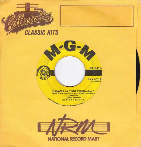 "Lennie Hayton And The M-G-M Studio Orchestra Vinyl 7"" (Used)"