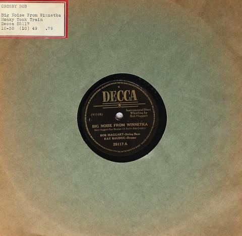 Bob Crosby And His Orchestra / Bob Haggart 78