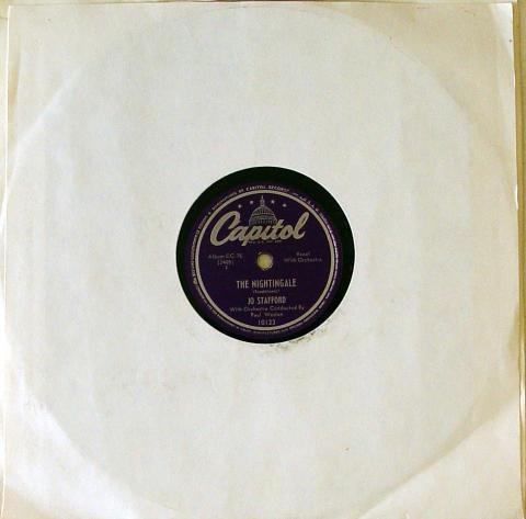 Jo Stafford Sings American Folksongs 78