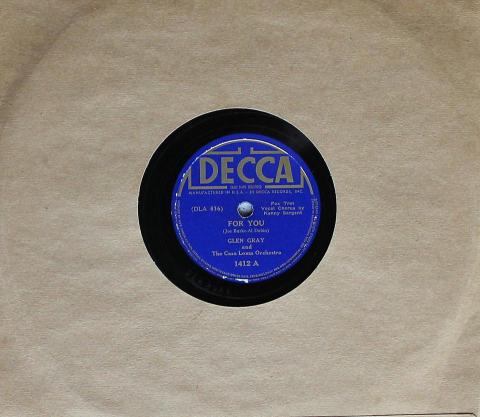 Glen Gray and the Casa Loma Orchestra 78