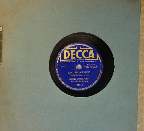 Jimmie Lunceford & His Orchestra 78