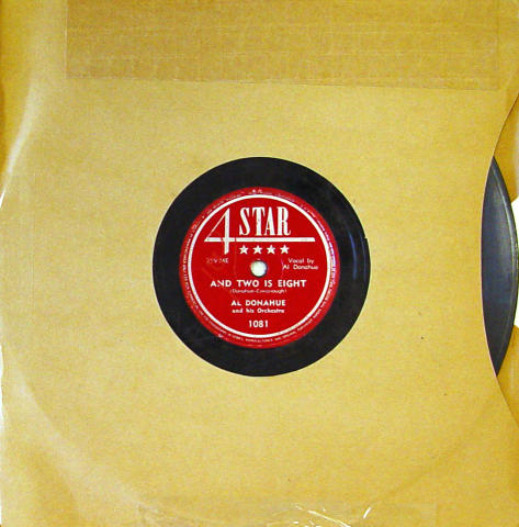 Al Donahue And His Orchestra 78