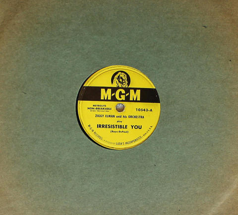 Ziggy Elman And His Orchestra 78