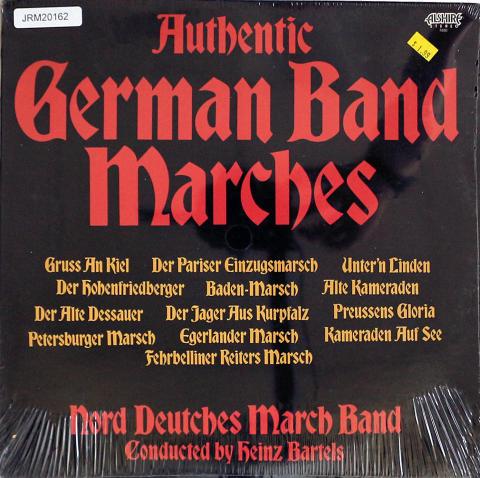 """Nord Deutsches March Band Vinyl 12"""""""