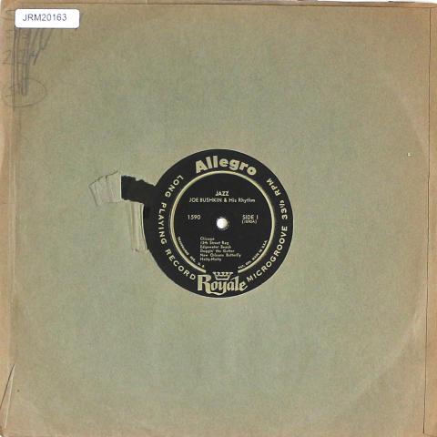 """Joe Bushkin And His Rhythm Vinyl 12"""""""