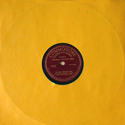 The Bud Freeman Trio 78