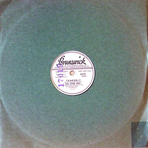 Lou Stein Trio 78