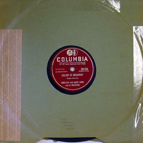 Doris Day / Harry James 78