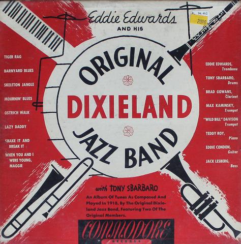 """Eddie Edwards / Tony Sbarbaro Vinyl 10"""" (Used)"""