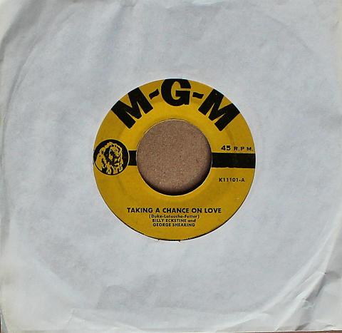 "Billy Eckstine And George Shearing Vinyl 7"" (Used)"