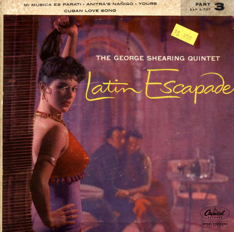 """The George Shearing Quintet Vinyl 7"""" (Used)"""