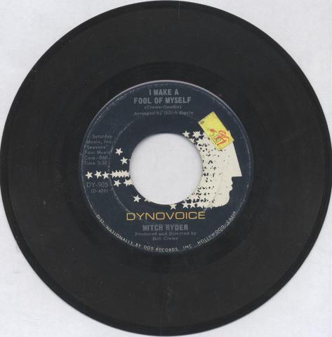 "Mitch Ryder Vinyl 7"" (Used)"