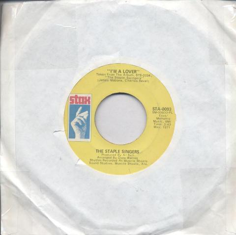 "The Staple Singers Vinyl 7"" (Used)"