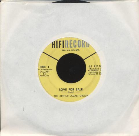 "The Arthur Lyman Group Vinyl 7"" (Used)"