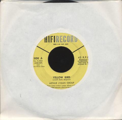"""Arthur Lyman Group Vinyl 7"""" (Used)"""