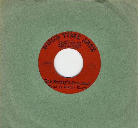 "Bob Scobey's Frisco Band Vinyl 7"" (Used)"