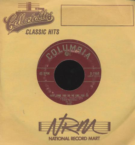 "Eddie Condon And His All-Stars Vinyl 7"" (Used)"
