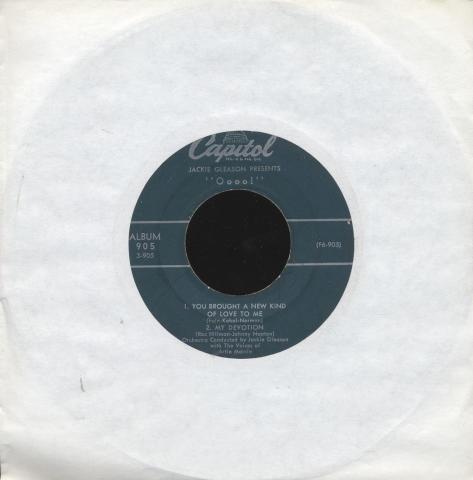 "Jackie Gleason Vinyl 7"" (Used)"