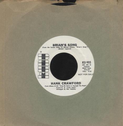 """Hank Crawford Vinyl 7"""" (Used)"""