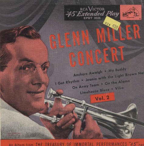 """Glenn Miller Vinyl 7"""" (Used)"""