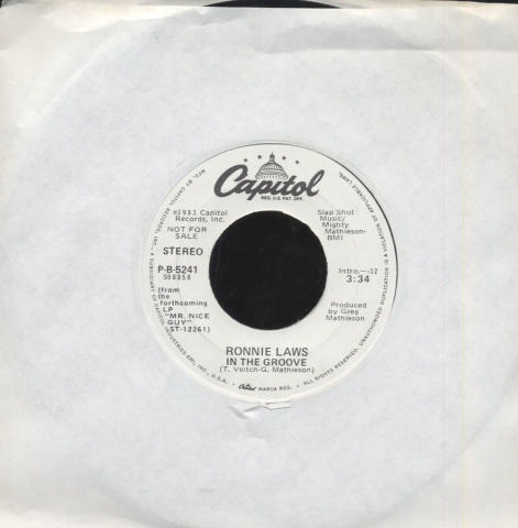 "Ronnie Laws Vinyl 7"" (Used)"