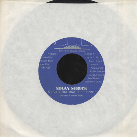"Nolan Struck Vinyl 7"" (Used)"