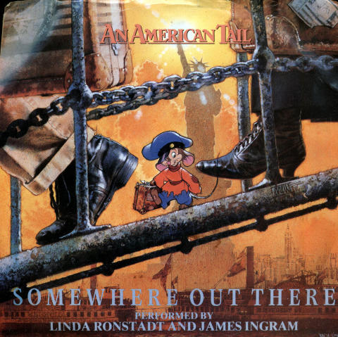 """An American Tail Vinyl 7"""" (Used)"""