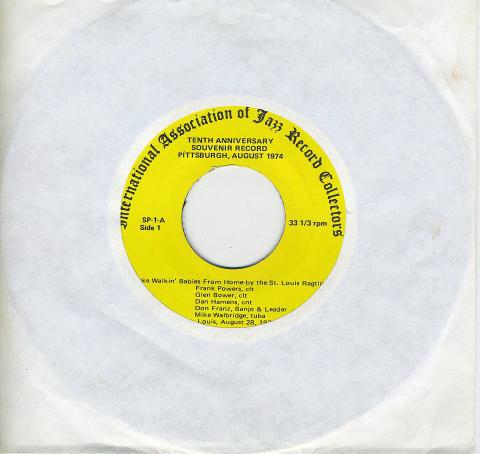 "Tenth Anniversary Souvenir Record: Pittsburgh, August 1974 Vinyl 7"" (Used)"