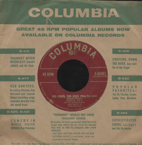"Doris Day Vinyl 7"" (Used)"