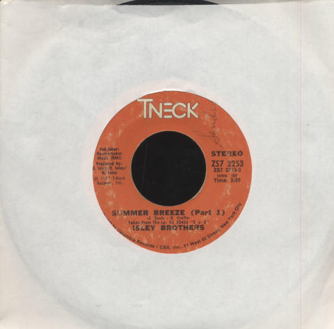 "The Isley Brothers Vinyl 7"" (Used)"