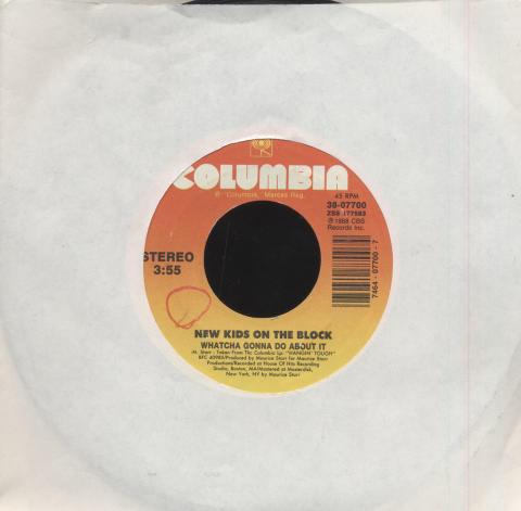 "New Kids On The Block Vinyl 7"" (Used)"