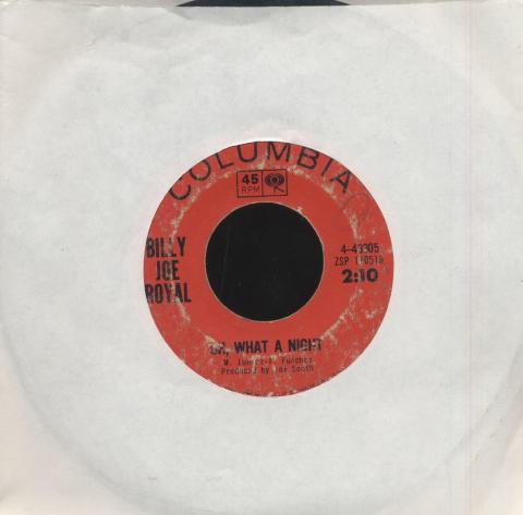 "Billy Joe Royal Vinyl 7"" (Used)"