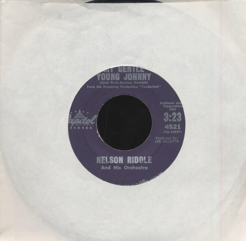 """Nelson Riddle Vinyl 7"""" (Used)"""