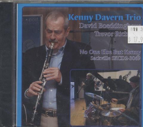 Kenny Davern Trio CD