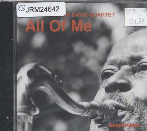 "Eddie ""Lockjaw"" Davis Quartet CD"