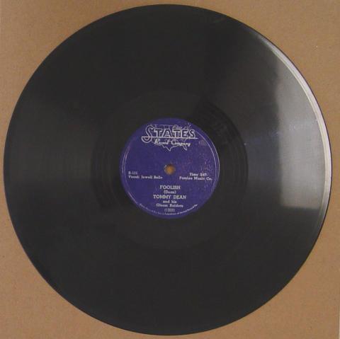 "Tommy Dean And His Gloom Raiders Vinyl 12"""