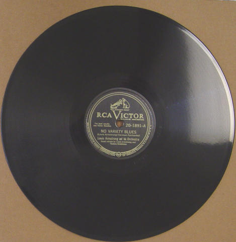 """Louis Armstrong And His Orchestra Vinyl 12"""""""