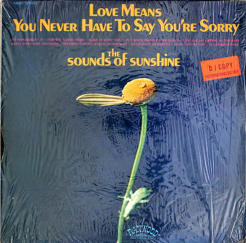 "The Sounds Of Sunshine Vinyl 12"""